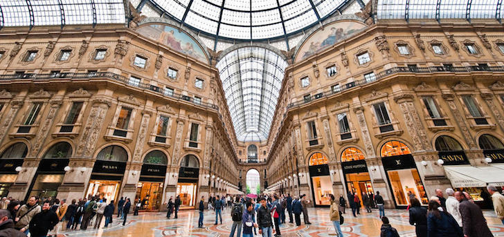 Fashion sales in Italy grow just 1.6% in October