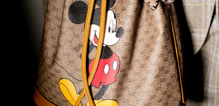 Gucci remembers childhood icon for Chinese New Year: Mickey Mouse