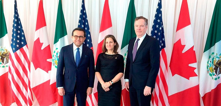United States reaches trade deal with Canada and Mexico to replace Nafta
