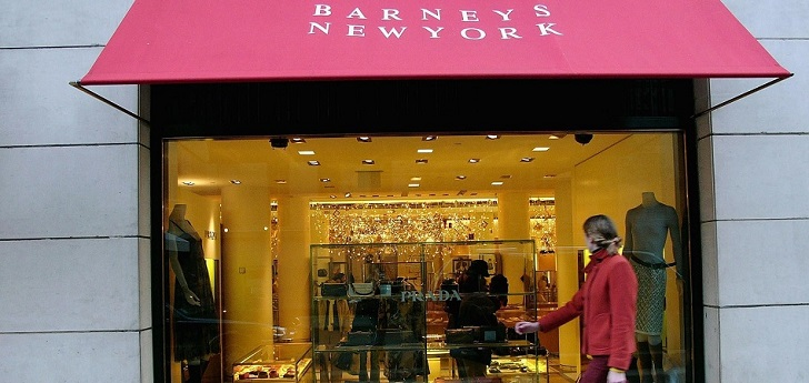 Barneys gives in and files for bankruptcy