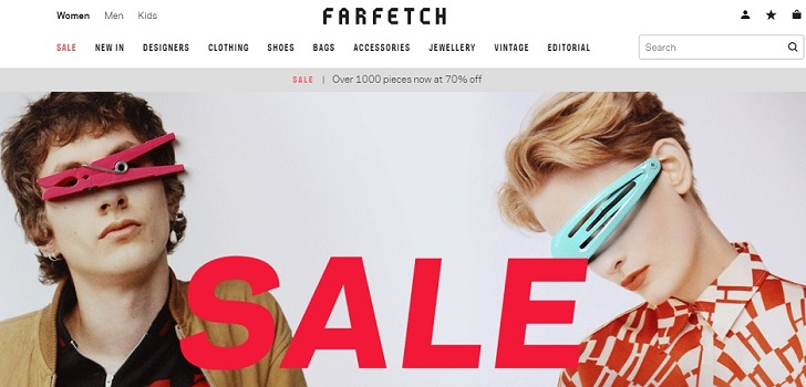 Farfetch builds up China's management after taking over a tech firm in the country