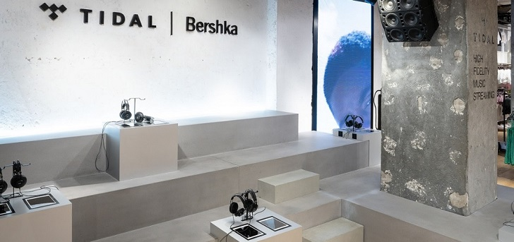 Bershka teams up with Tidal to open shop-in-shops