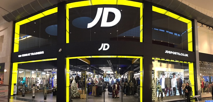JD Sports boosts its sales 47% and earns 2.7% more in first