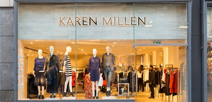Karen Millen farewell to retail: closes all stores