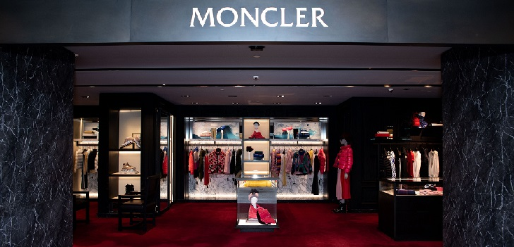 Moncler grows 15% and increases its profit by 9% in 2019