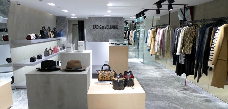 Zadig&Voltaire, stronger at home: opens pop-up in Galleries Lafayette