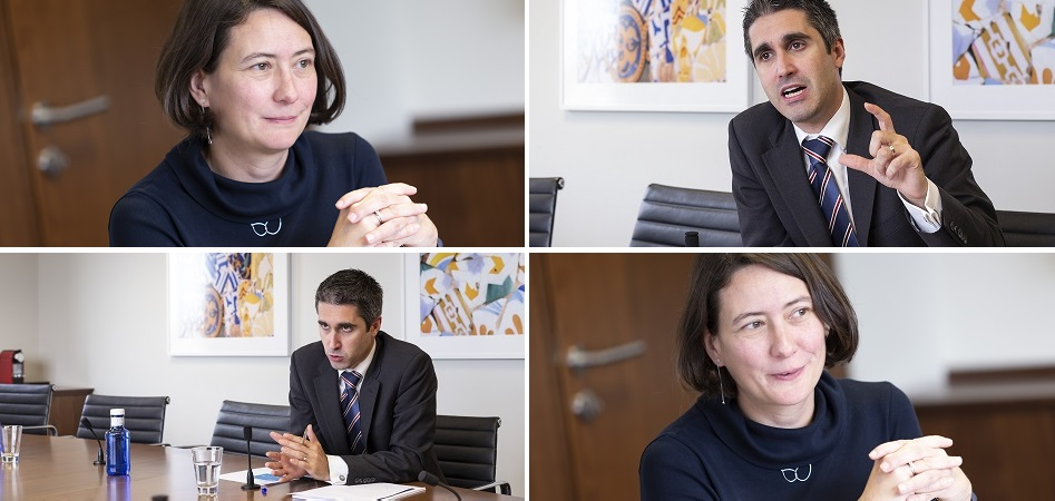 """Marina Albo and Víctor García (Moody's): """"Fashion is polarized and the medium segment, with H&M and Inditex, is going to suffer the most"""""""