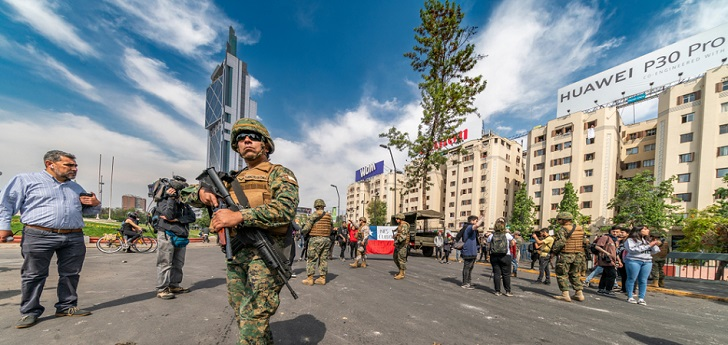 Chile protests: Latin America's retail pearl, on alert