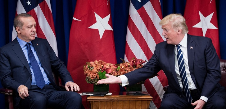 United States 'breaks' with Turkey and finishes 'zero tariffs'