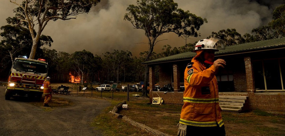 Fashion, 'firefighter' for Australia