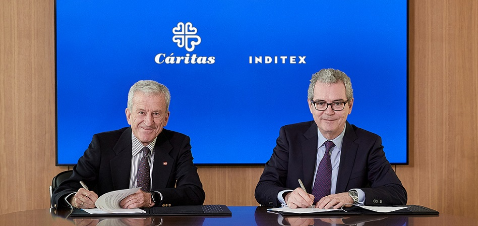 Inditex strengthens its alliance with Caritas