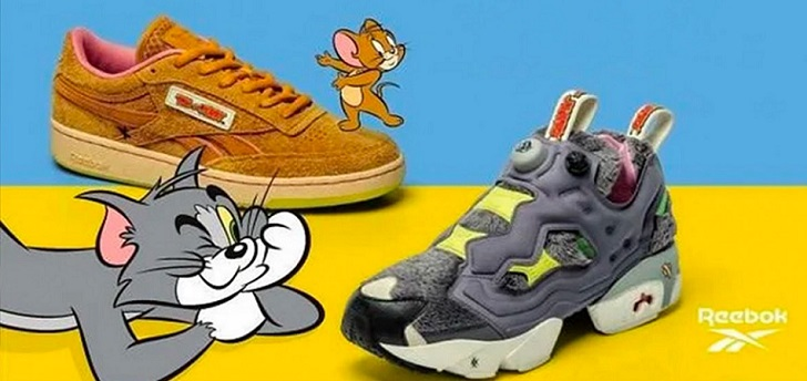 Tom and Jerry capture Reebok