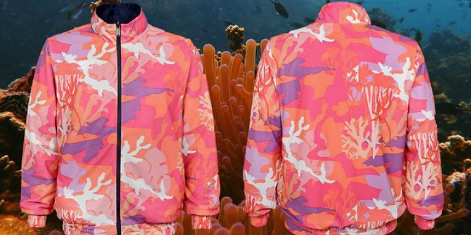 Umbro and Coral Studio support The Great Barrier Reef