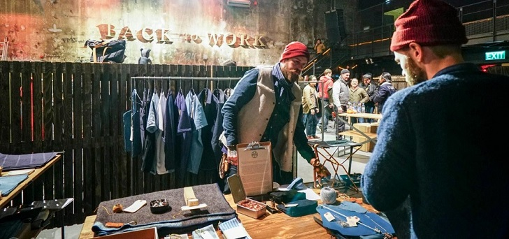 Berlin trade show Panorama buys denim fair Selvedge Run