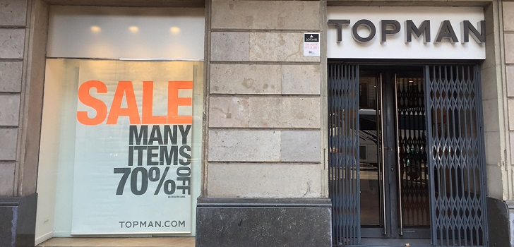 Arcadia boosts Topman: relaunches its own brands in the middle of restructuring process