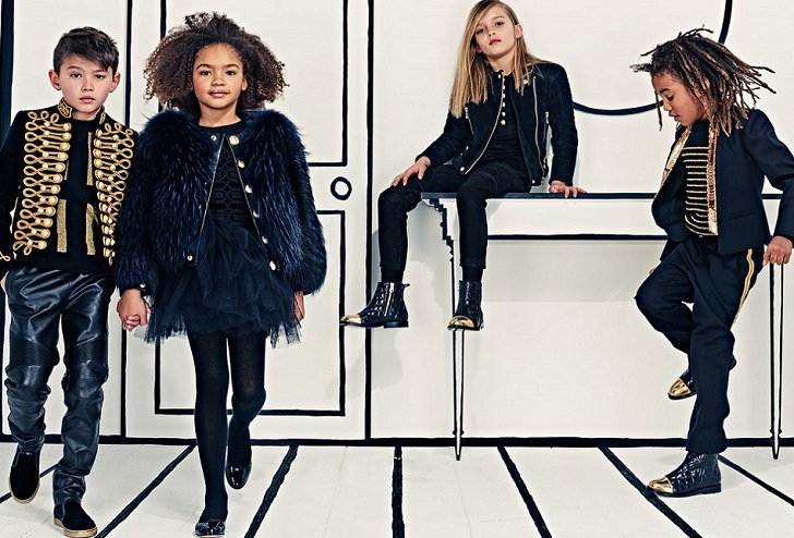 Balmain fuels childrenswear with Simonetta: opens first Balmain Kids stores