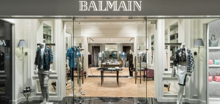 Balmain joins forces with Yoox-Net-a-Porter and relaunches own ecommerce platform