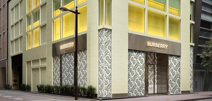 Burberry reinforces its Japanese market with new flagship in Ginza