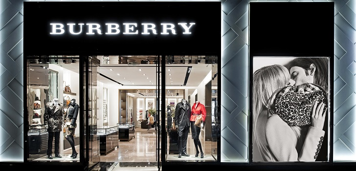 Store of company Burberry