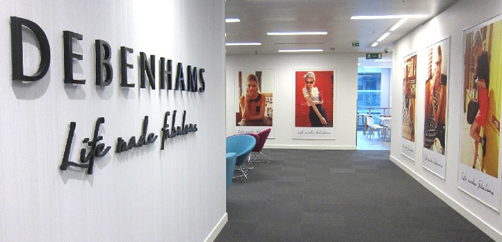 Debenhams' parent company appoints restructuring expert to the board