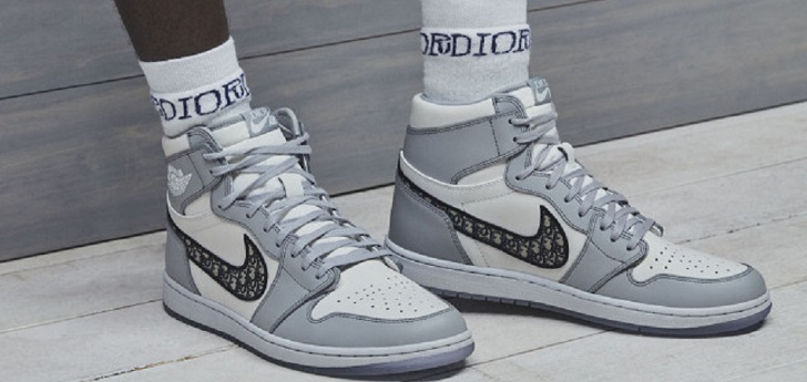 Luxury sets eyes in athleisure again: Dior and Nike team up for Jordan sneakers collab