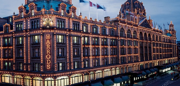 Sightseeing of Harrods