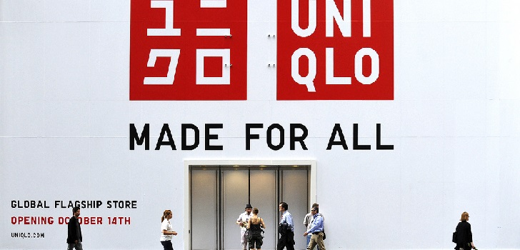 Opening of an Uniqlo's store