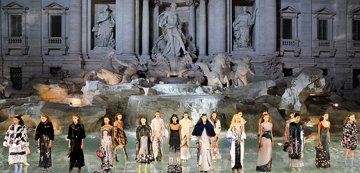 Fendi, art preserver: restores Roman fountains