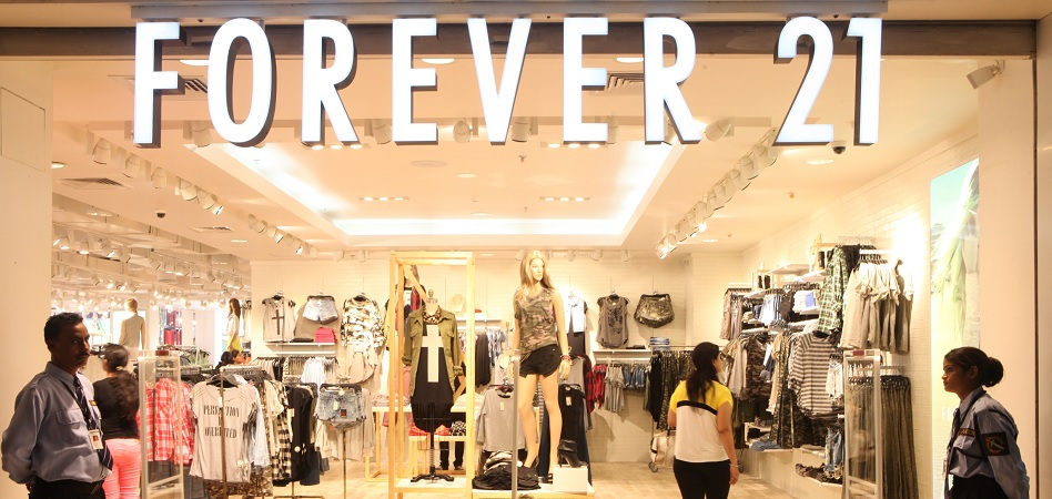Forever21 rearranges its global presence after filing for chapter 11 bankruptcy