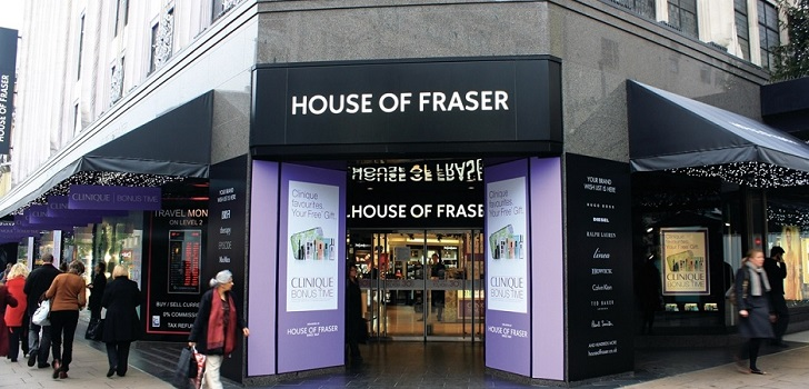 Sports Direct takes over House of Faser for 90 million pounds