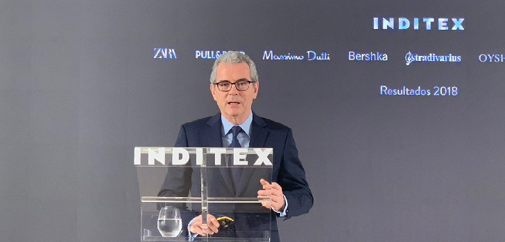 Inditex reduces its sales by 24% in first half of March over coronavirus