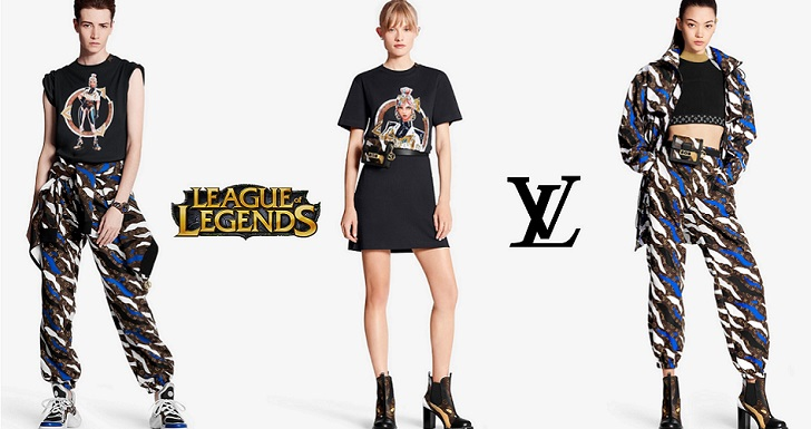 Louis Vuitton plays with League of Legends
