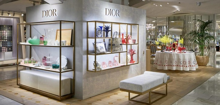 Dior takes its Maison concept to Tokyo: opens pop-up in Isetan department store