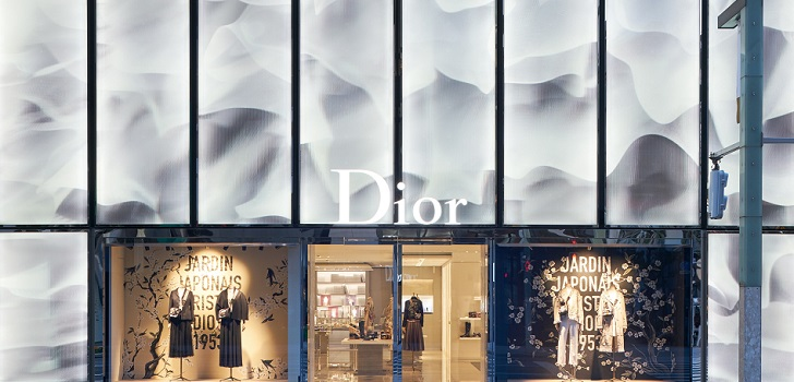 Dior, all in in Tokyo: three points of sale in less than four months