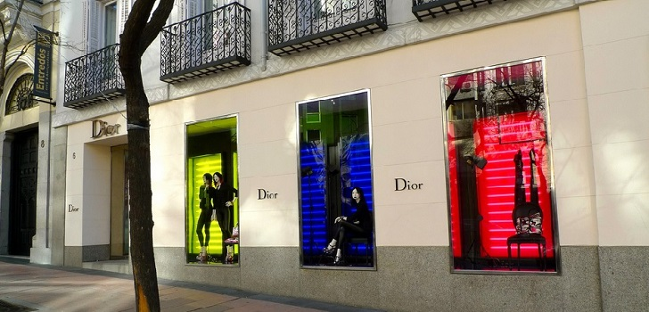 LMVH and Dior store