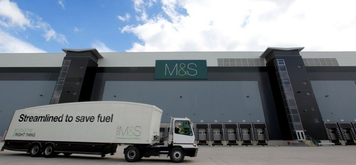 Marks&Spencer closes two distribution centers and puts 700 jobs at risk