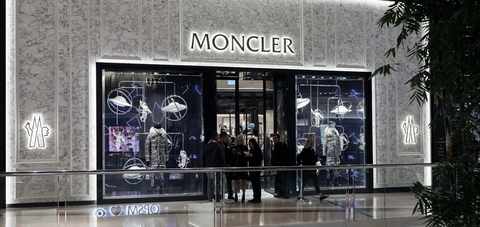 Moncler increases its revenue by 10% in third quarter