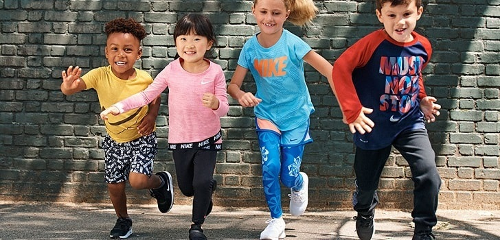 Nike rides the wave of sales by subscription with children sneakers