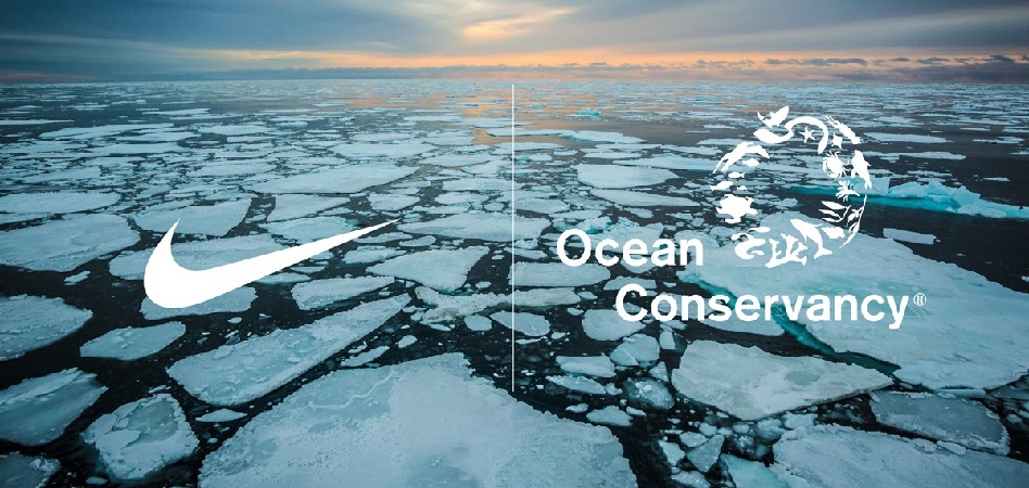 Nike and Ocean Conservancy, against the melting of the Arctic