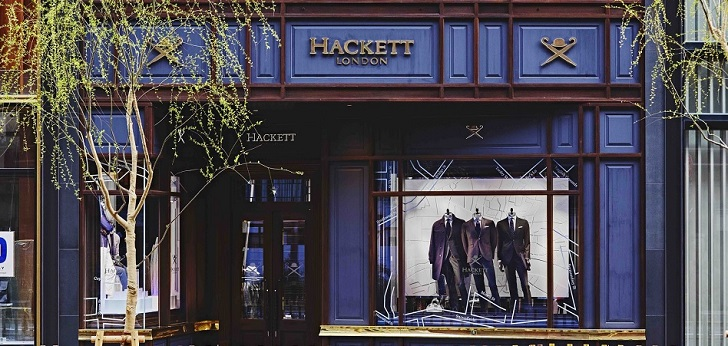 Hackett conquers the mecca of tailoring: opens store in Savile Row