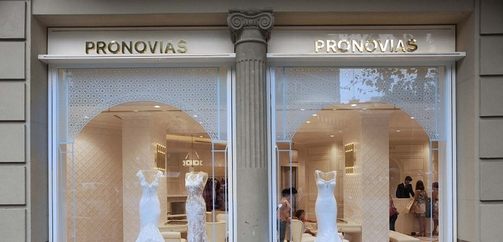 Pronovias enters China: opens in Shanghai its first store in the country