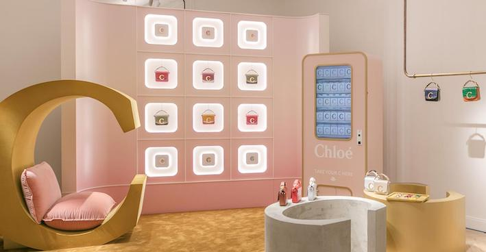 Richemont bets on personalization with Chloé: opens pop up in France and China