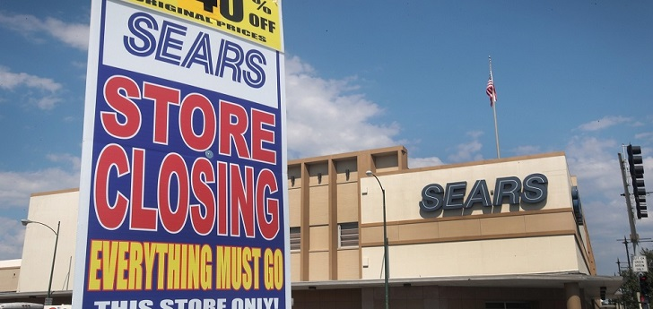 2018, the year Sears went broke and department stores were put on guard