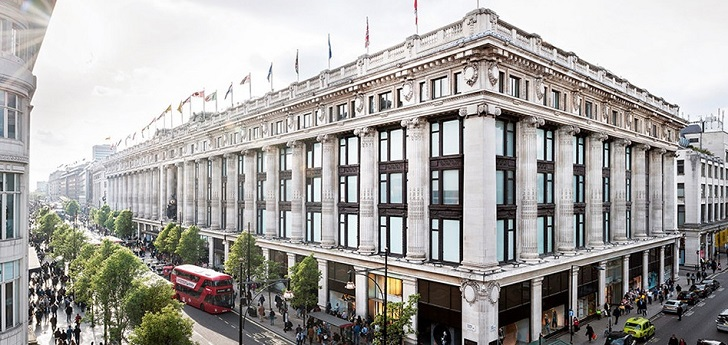Selfridges grows 6% in 2018 after Oxford Street renovation