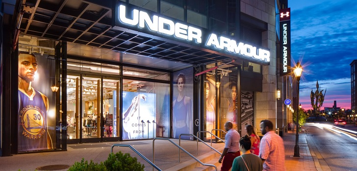 Under Armour grows 1.5% in the first half