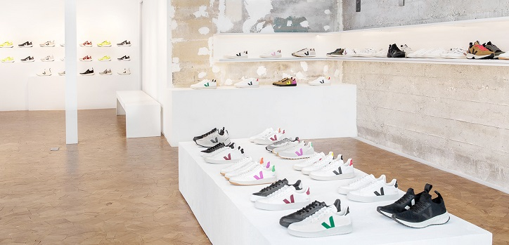 Veja bets for retail: opens its first store in Paris