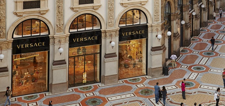 Versace accelerates retail expansion in Europe and America to reach one billion euros